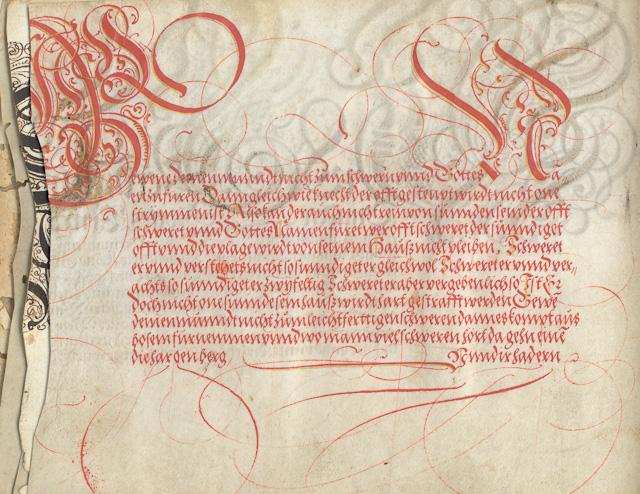Portfolio from the XV.-XVI.century