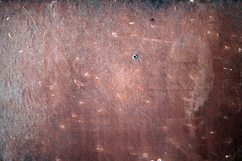 Cracked painted brown wall texture, free download