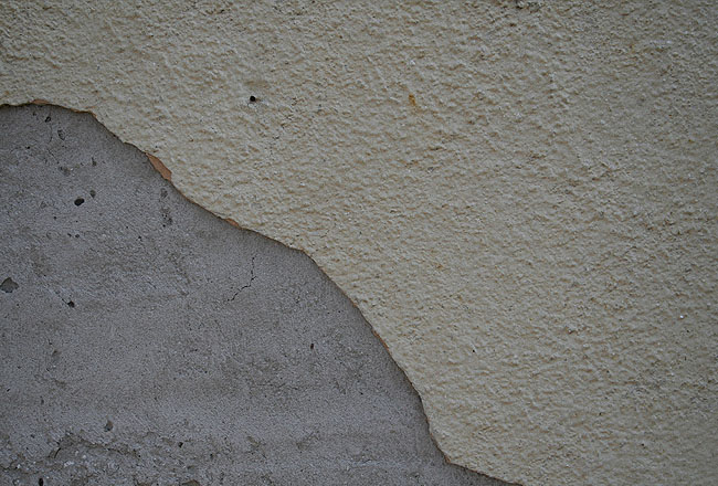 Wall texture with concrete